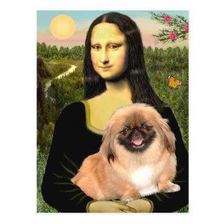 Mona Lisa - Pekingese #1 Tarjeta Postal