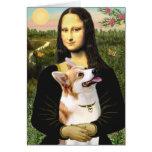 Mona Lisa - Pembroke Welsh Corgi 7b Card