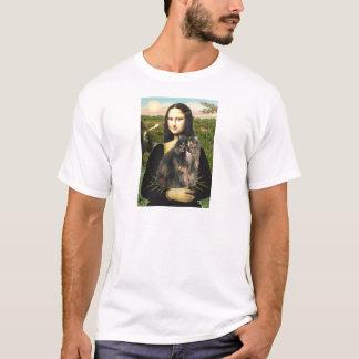 Mona Lisa - Persian Calico cat T-Shirt