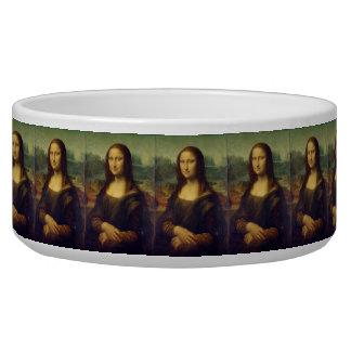 Mona Lisa Pet Bowl