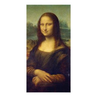 Mona Lisa Personalized Photo Card