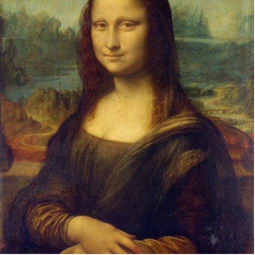 Mona Lisa Cut Outs