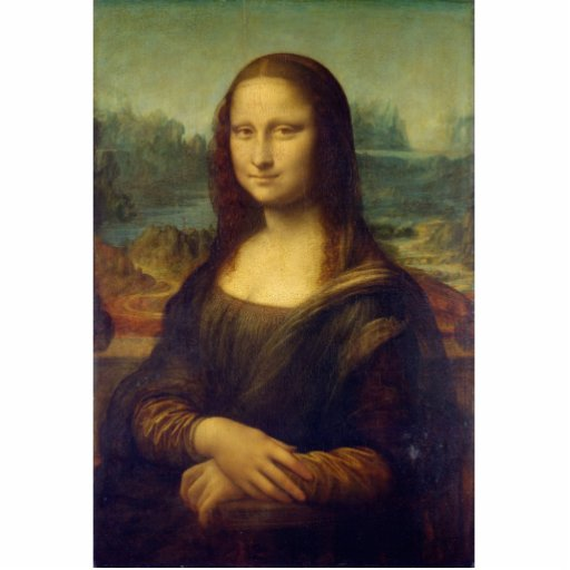 Mona Lisa Photo Cutout
