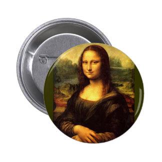 Mona Lisa Pin Redondo 5 Cm