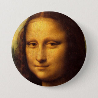 Mona Lisa Pinback Button