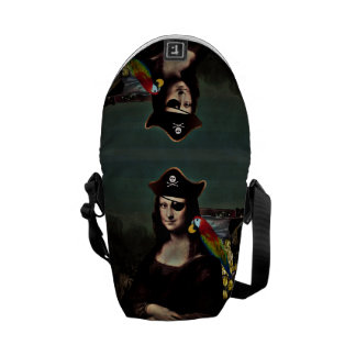 Mona Lisa Pirate Captain Courier Bag