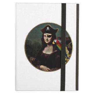 Mona Lisa Pirate Captain iPad Air Cover