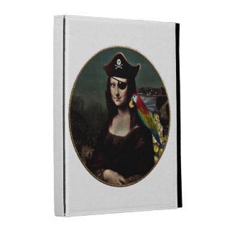 Mona Lisa Pirate Captain iPad Case