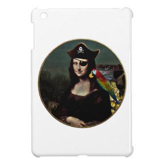 Mona Lisa Pirate Captain iPad Mini Cover