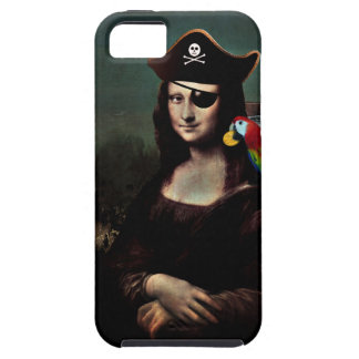 Mona Lisa Pirate Captain iPhone SE/5/5s Case