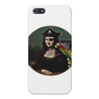 Mona Lisa Pirate Captain iPhone SE/5/5s Cover
