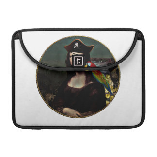 Mona Lisa Pirate Captain Sleeves For MacBook Pro