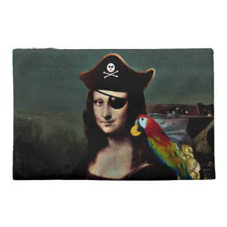 Mona Lisa Pirate Captain Travel Accessory Bags