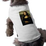 Mona Lisa Playera Sin Mangas Para Perro