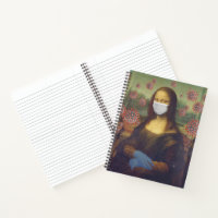 Mona Lisa Playing Safe Around Coronavirus, ZFBP Notebook