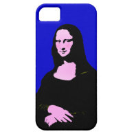 Mona Lisa Pop Art Style (Add Background Color) iPhone 5 Cases