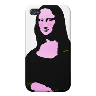 Mona Lisa Pop Art Style Case For iPhone 4