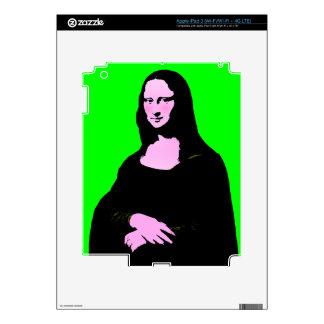 Mona Lisa Pop Art Style iPad 3 Decals