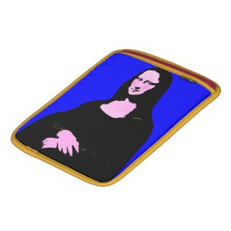 Mona Lisa Pop Art Style Sleeve For iPads