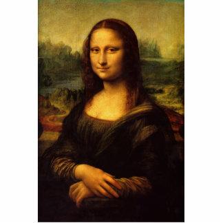 Mona Lisa por la escultura de la foto de Leonardo  Fotoescultura Vertical