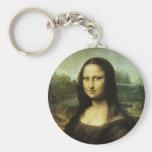Mona Lisa por renacimiento del vintage de Leonardo Llaveros Personalizados