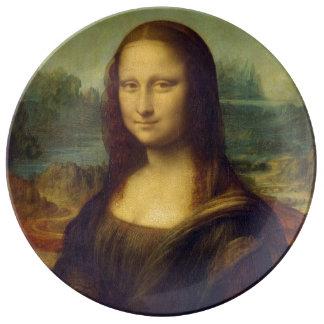 Mona Lisa Porcelain Plate