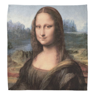 Mona Lisa Portrait / Painting Bandana