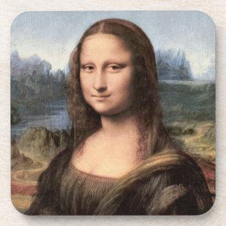 Mona Lisa Portrait / Painting Beverage Coaster