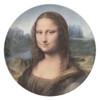Mona Lisa Portrait / Painting Plate