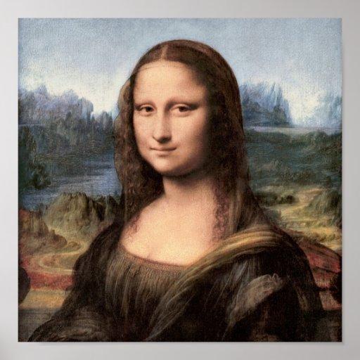 Mona Lisa Portrait / Painting Posters