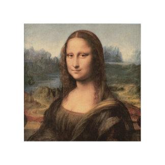 Mona Lisa Portrait / Painting Wood Wall Art