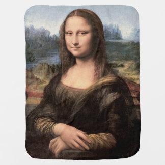 Mona Lisa Portrait / Painting Stroller Blanket