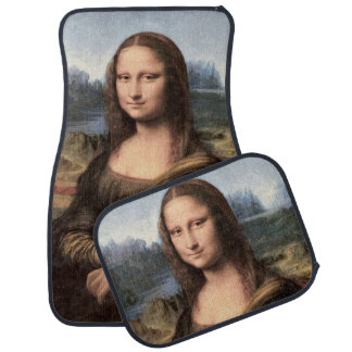 Mona Lisa Portrait / Painting Floor Mat