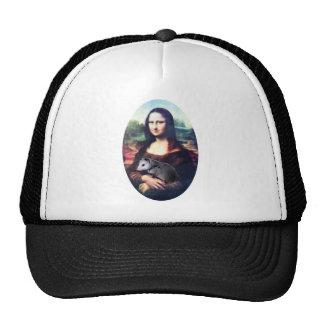 Mona Lisa Possum Trucker Hat