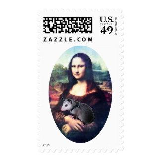 Mona Lisa Possum Postage
