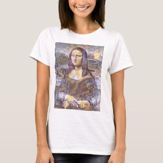 Mona Lisa Post-Impressionist Reinterpretation T-Shirt
