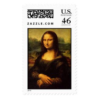'Mona Lisa' Stamp