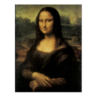 Mona Lisa Postal