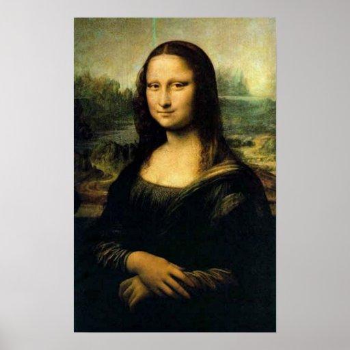 Mona Lisa Póster