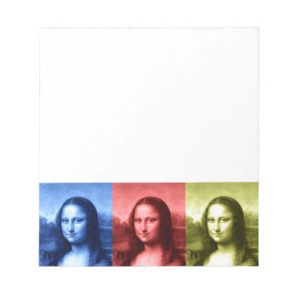Mona Lisa Primary Colors Notepad