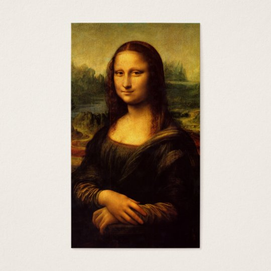 Mona Lisa Profile Card