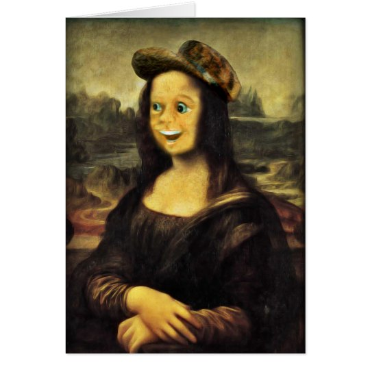 Mona Lisa, Put on a Happy Face Card