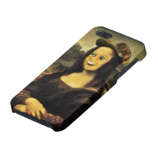 Mona Lisa, Put on a Happy Face iPhone SE/5/5s Case