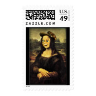 Mona Lisa, Put on a Happy Face Postage