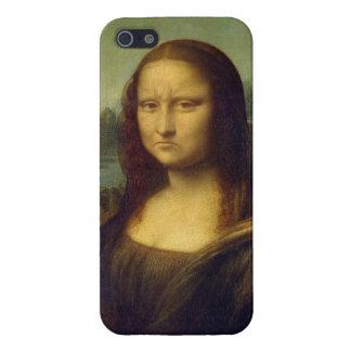 Mona Lisa que frunce el ceño iPhone 5 Cárcasa
