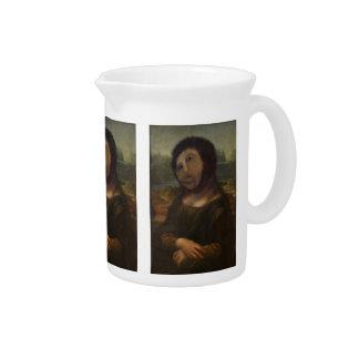 Mona Lisa restaurada Jarra De Beber