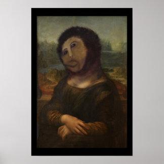 Mona Lisa restaurada Posters