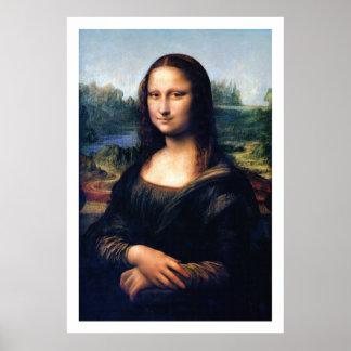 Mona Lisa restauró el poster de Leonardo da Vinci