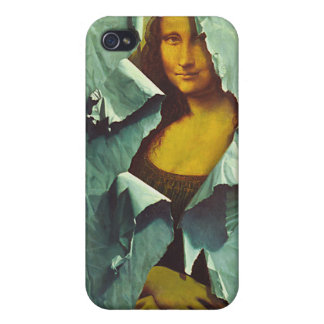 Mona Lisa robada iPhone 4 Carcasa