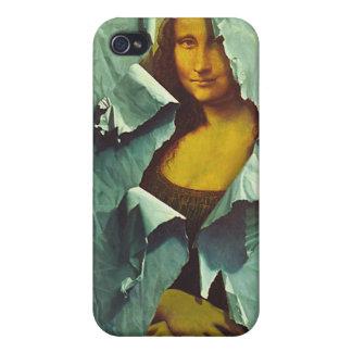 Mona Lisa robada iPhone 4 Fundas